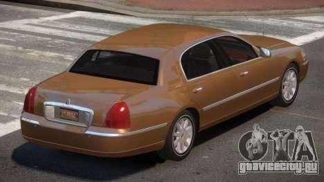 Lincoln Town Car V1.1 для GTA 4