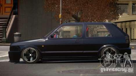 Volkswagen Golf MK2 V1.2 для GTA 4