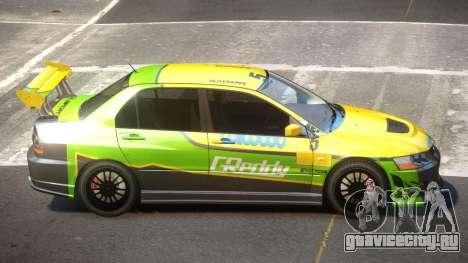 Mitsubishi Lancer S-Tuned PJ5 для GTA 4
