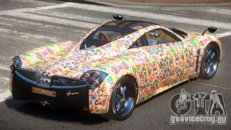 Pagani Huayra GBR PJ5 для GTA 4