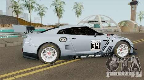 Nissan GTR Nismo GT3 для GTA San Andreas