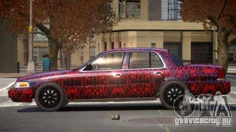 Ford Crown Victoria CL PJ1 для GTA 4