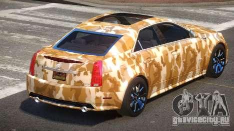 Cadillac CTS-V LR PJ5 для GTA 4