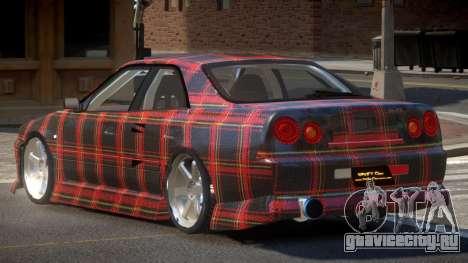 Nissan Skyline R34 SRS PJ4 для GTA 4