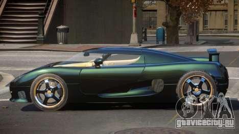 Koenigsegg CCRT Sport для GTA 4