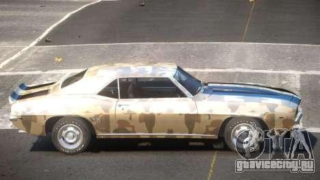 Chevrolet Camaro Z28 SR PJ1 для GTA 4