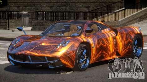 Pagani Huayra GBR PJ1 для GTA 4