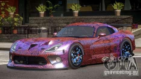 Dodge Viper SRT L-Tuning PJ6 для GTA 4