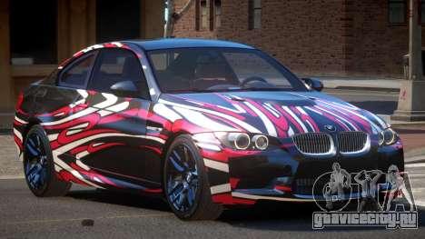 BMW M3 E92 LR PJ5 для GTA 4