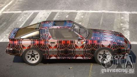 Mitsubishi Starion SR PJ2 для GTA 4