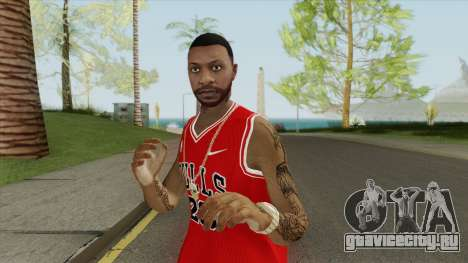 Random Male V1 (Chicago Bulls) для GTA San Andreas