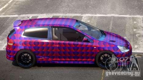 Honda Civic Type R-Tuned PJ3 для GTA 4