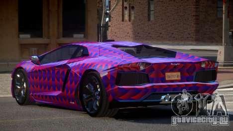 Lamborghini Aventador JRV PJ1 для GTA 4