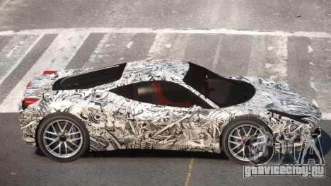 Ferrari 458 Qz PJ4 для GTA 4