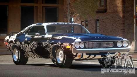 1972 Dodge Challenger RT PJ6 для GTA 4
