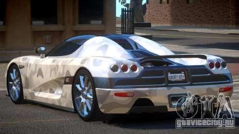 Koenigsegg CCX S-Tuned PJ4 для GTA 4