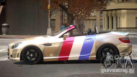 Mercedes Benz SLK DDS PJ1 для GTA 4
