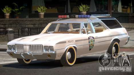 Oldsmobile Vista Cruiser RS Police для GTA 4