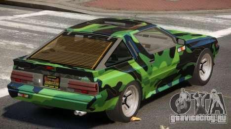 Mitsubishi Starion SR PJ3 для GTA 4