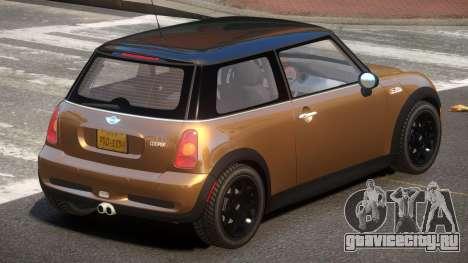 Mini Cooper S L-Tuned для GTA 4