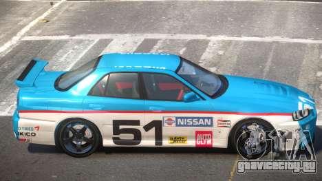 Nissan Skyline R34 D-Style PJ5 для GTA 4
