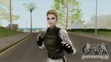 Yelena Belova (Snow Suit) для GTA San Andreas