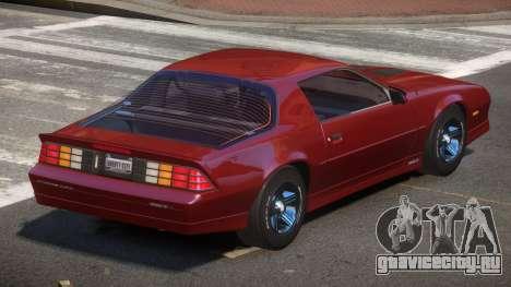 1989 Chevrolet Camaro LS для GTA 4