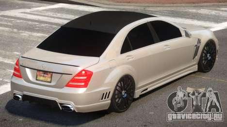 Mercedes Benz W221 E-Style для GTA 4