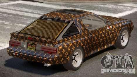Mitsubishi Starion SR PJ1 для GTA 4
