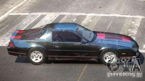 Chevrolet Camaro IR PJ4 для GTA 4