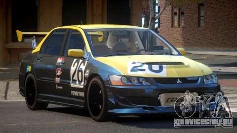Mitsubishi Lancer S-Tuned PJ3 для GTA 4