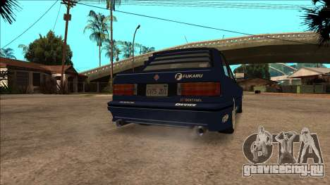 GTA V Ubermacht Sentinel Classic для GTA San Andreas