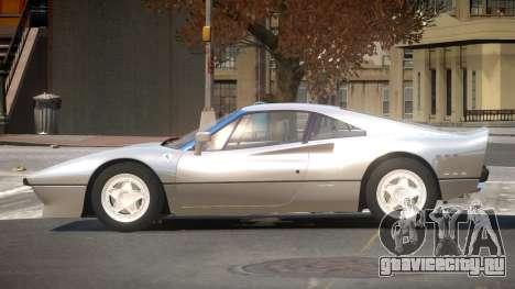Ferrari 288 GTO V1.2 для GTA 4
