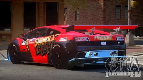 Lamborghini Gallardo LP560 SR PJ6 для GTA 4