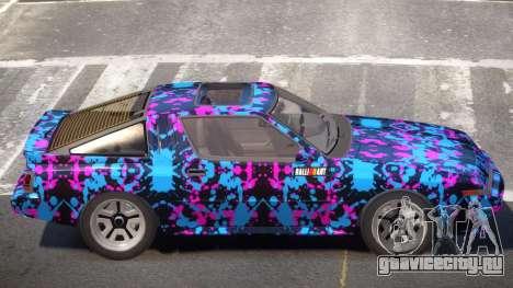 Mitsubishi Starion SR PJ4 для GTA 4