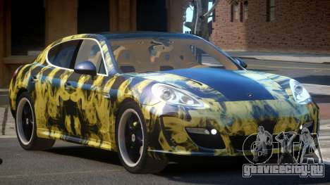Porsche Panamera ML PJ4 для GTA 4