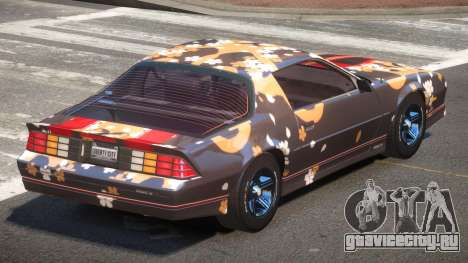 Chevrolet Camaro IR PJ2 для GTA 4