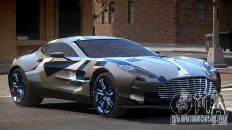 Aston Martin One-77 LS PJ4 для GTA 4