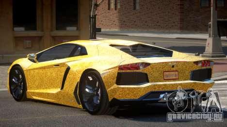 Lamborghini Aventador JRV PJ6 для GTA 4