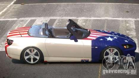 Honda S2000 SR PJ3 для GTA 4