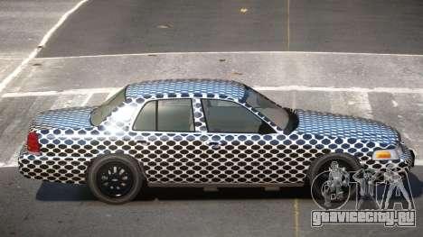 Ford Crown Victoria CL PJ3 для GTA 4