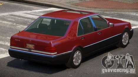 Mersedes Benz 500SE V1.3 для GTA 4