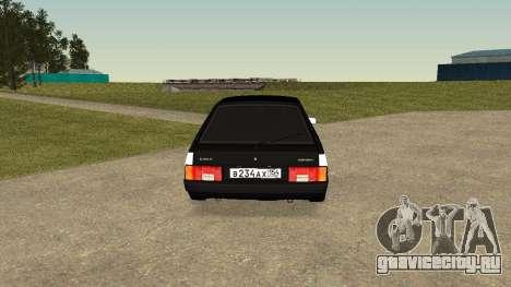 ВАЗ 2109 COVID-19 CONTROL для GTA San Andreas