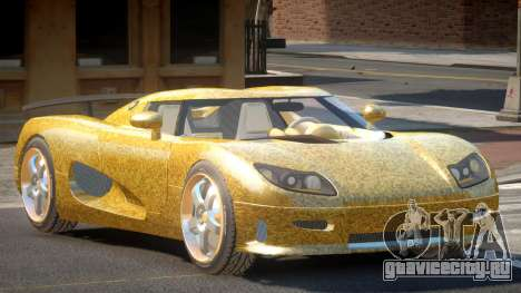 Koenigsegg CCRT Sport PJ6 для GTA 4