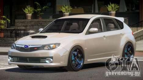 Subaru Impreza R-Tuning для GTA 4