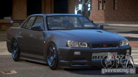 Nissan Skyline R34 D-Style для GTA 4