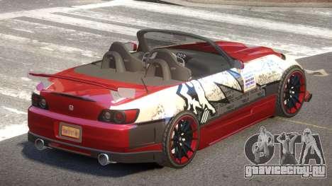 Honda S2000 D-Style PJ1 для GTA 4