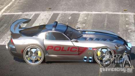 Dodge Viper SRT Police V1.1 для GTA 4