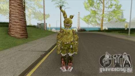 Springtrap (FNAF AR: Especial Delivery) для GTA San Andreas