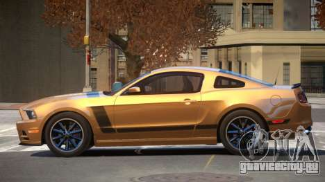 Ford Mustang B-Style для GTA 4